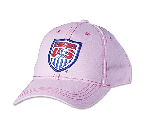 USA Women's Cap Adjustable Hat Official Football Soccer Merchandise Pink (PINK) (Us Soccer Merchandise compare prices)
