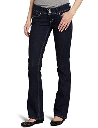 Levi's Juniors 524 Back Flap Pocket Styled Skinny Bootcut Jean,Simply Blue,24/0 Medium