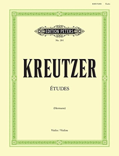Kreutzer: 42 Studies (Caprices) for Violin Solo, ed. Hermann