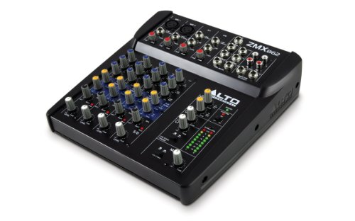 Alto Professional ZMX862, 6-Channel, 2 bus, 8
