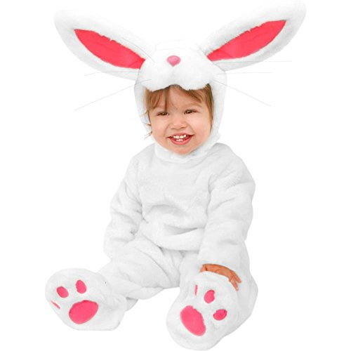 Plush Child's Infant Easter Bunny Rabbit Costume