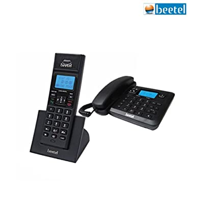 Beetel X78 Cordless Phone (Black)