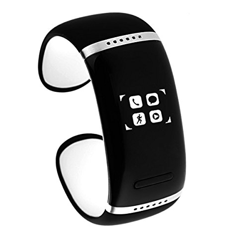Oceantree Bluetooth Smart Bracelet Wrist Watch Phone For Ios Android Samsung Iphone Htc Oled Display (White)