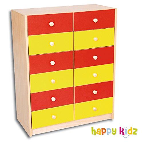Schrank mit 12 Schubladen online kaufen