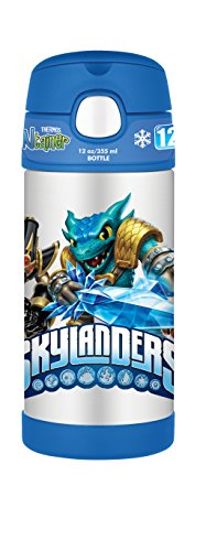 Thermos 12 Ounce Funtainer Bottle, Skylanders Swap Force