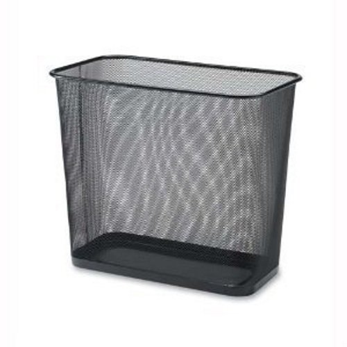 Ybmhome 1103 Steel Rectangular Mesh Trash Can, Black (Designer Trash Can compare prices)