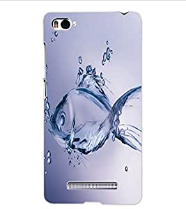 ColourCraft Fantasy Fish Design Back Case Cover for XIAOMI MI 4I