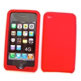 Apple iPod Touch 5 (5th Generation) Silicone Skin Case, Red