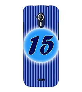 Fuson 3D Printed Numerology Designer back case cover for Micromax Canvas Magnus A117 - D4233