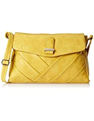 Caprese Gracia Women's Sling Bag (Ochre)