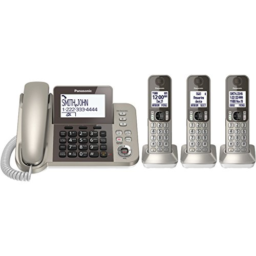Panasonic KXTGF353N Dect 3-Handset Landline Telephone (Panasonic Handset Phone compare prices)