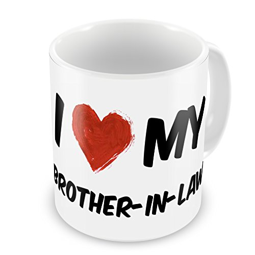 Coffee Mug I Love My Brother-In-Law - Neonblond