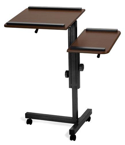 Buy Low Price Comfortable Multi-Purpose Laptop Stand Mahogany/Black – OFM LCS-100-MABK (B005LWOKXA)