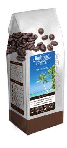 Barrie House Kona Blend Coffee, ground 10 oz bag