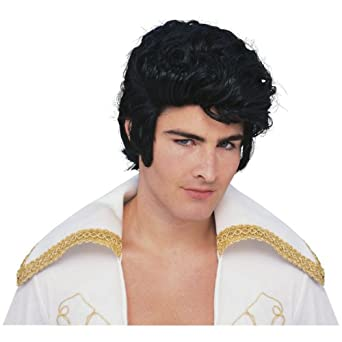 Elvis Rock Star Wig Costume Accessory