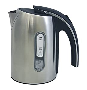 10 Cup 1.7 Liter Capri Stainless Steel Cordless Electric Kettle by ZUCCOR (BOIL-DRY... by ZUCCOR