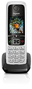 Gigaset C430 H Schnurlostelefon Zusatzgerät (4,6 cm (1,8 Zoll) TFT-Farbdisplay, Freisprecheinrichtung) schwarz