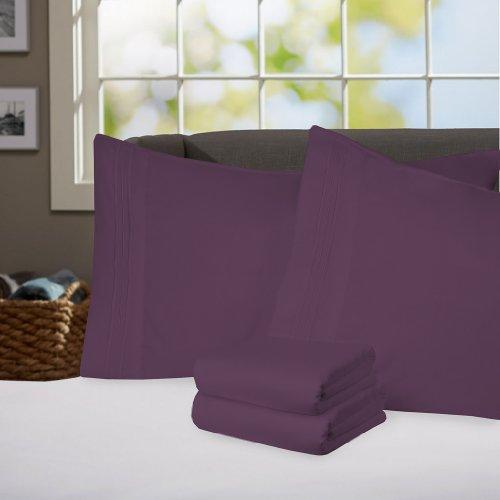 Purple Queen Bedding front-1031469