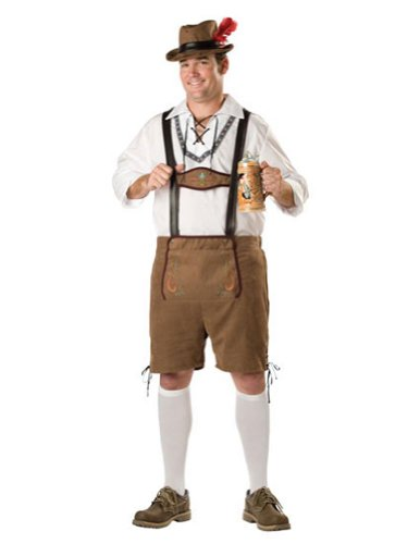 Oktoberfest Guy 3X Adult Mens Costume