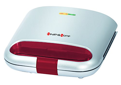 Health and Homeremovable Sandwich Maker with Non-stick Plates