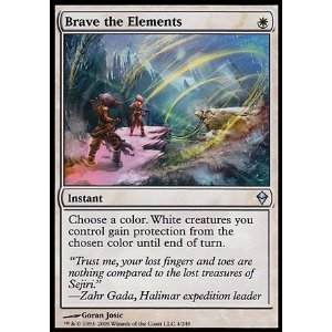Magic: the Gathering - Brave the Elements (4) - Zendikar - Foil