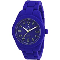 Toy Watch Velvety Blue Gulliche Dial Blue Silicone Unisex Watch VV09BL