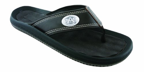 NCAA Auburn Tigers Men's Waffle Concho Flip Flops, Brown, 11 at Amazon.com