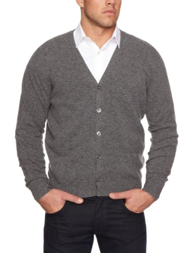 Alan Paine Talbolt Cardigan Men's Jumper Derby 48 IN