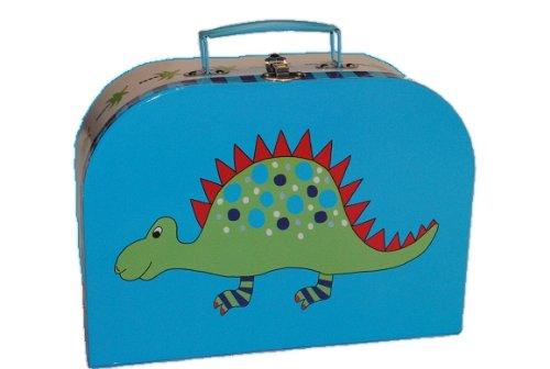 Kinderkoffer in 3 Größen ! Dino blau Groß