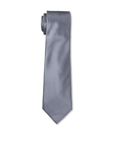 Ermenegildo Zegna Men's Polka Dot Tie, Gray