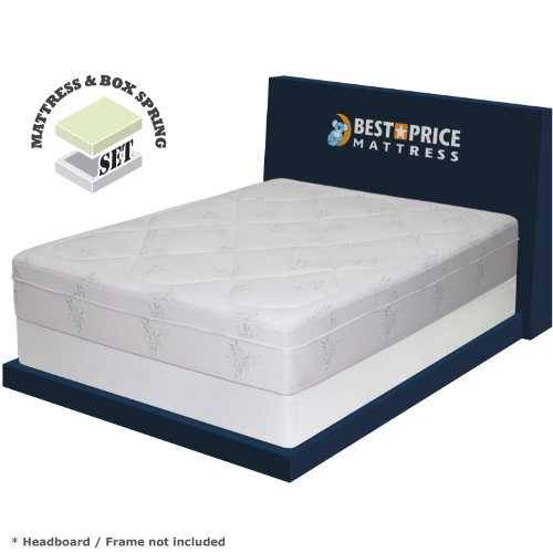 12 memory foam mattress new innovative box spring set king size inexpensive dreamfoam. Black Bedroom Furniture Sets. Home Design Ideas