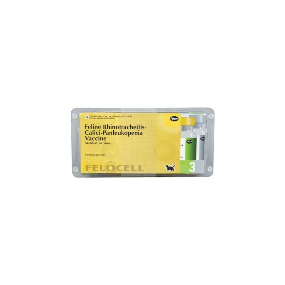 Felocell CVR Vaccine 25 Dose Package on PopScreen