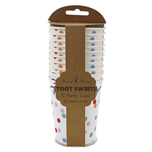 Meri Meri Spotty Party Cups