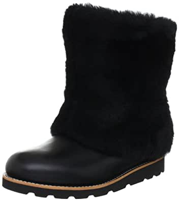 UGG Australia Women's Maylin Boots,Black Leather,11 US