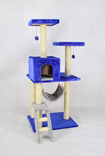 Fixture Displays Cat Climbing Tree with Cat Condos House12240 12240