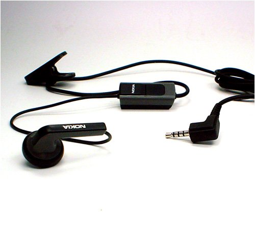 Headset mono (original) HS-40 Nokia 3600 slide