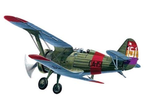 Maquette avion: Polikarpov I-5 Chaito : Guerre d'Espagne 1938