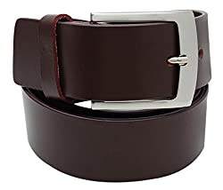 Walletsnbags Novapull Casual Leather Belt (B6_Brown_40)