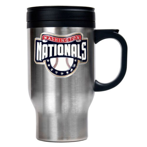 MLB Washington Nationals Stainless Steel Travel Mug (Primary Logo) at Amazon.com