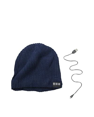 1 Voice Men's Bluetooth Beanie, Navy