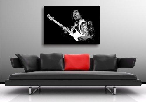 maxi poster jimi hendrix tableau sur toile 100 x 70 cm n 39 est pas une affiche mais une toile. Black Bedroom Furniture Sets. Home Design Ideas