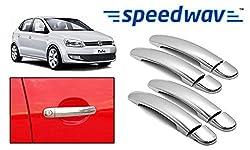 OEM Speedwav Chrome Car Door Handle Covers Set of 4-Volkswagen Polo Type 1