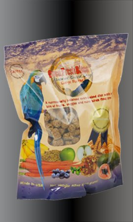 "Brand New Caitec Large 42 Oz Natural Baked Parrot Food ""Sale Caitec Bird Toys - Parrot / Cockatoo"""