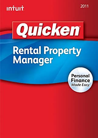 Quicken Rental Property Manager 2011 [Download] [OLD VERSION]