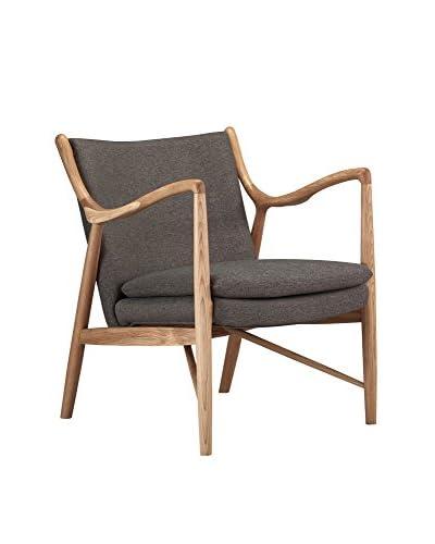 Kardiel Copenhagen 45 Mid-Century Modern Arm Chair, Twill