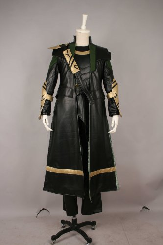 Cosplay Costume X-Small Size The Avengers Loki Japanese