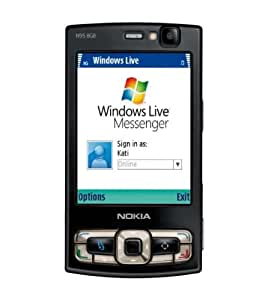 Nokia N95 8GB Quad Band Unlocked GSM Smartphone with 3G