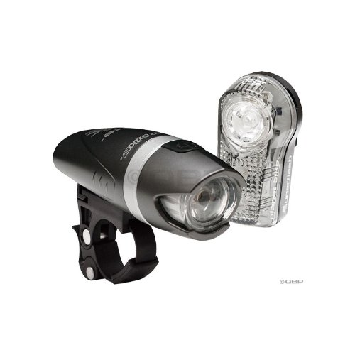 Planet Bike Blaze 1-Watt Headlight and Suplerflash Taillight Combination Bicycle Light Set
