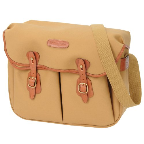 Billingham Hadley Large Canvas Camera Bag With Tan Leather Trim - Khaki Black Friday & Cyber Monday 2014