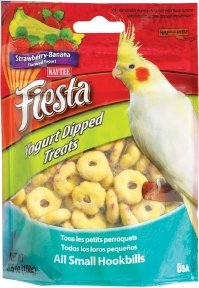 Cheap Kaytee Fiesta Cockatiel Yogurt Dipped Treat Strawberry Banana — 3.5 oz (BKT100502760)